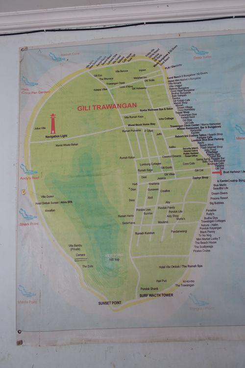 гили траванган - карта