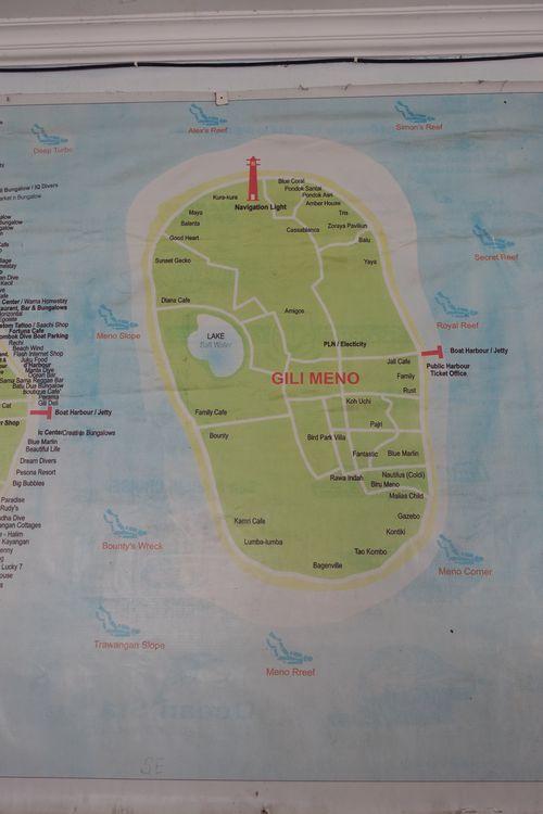 Гили Мено - карта