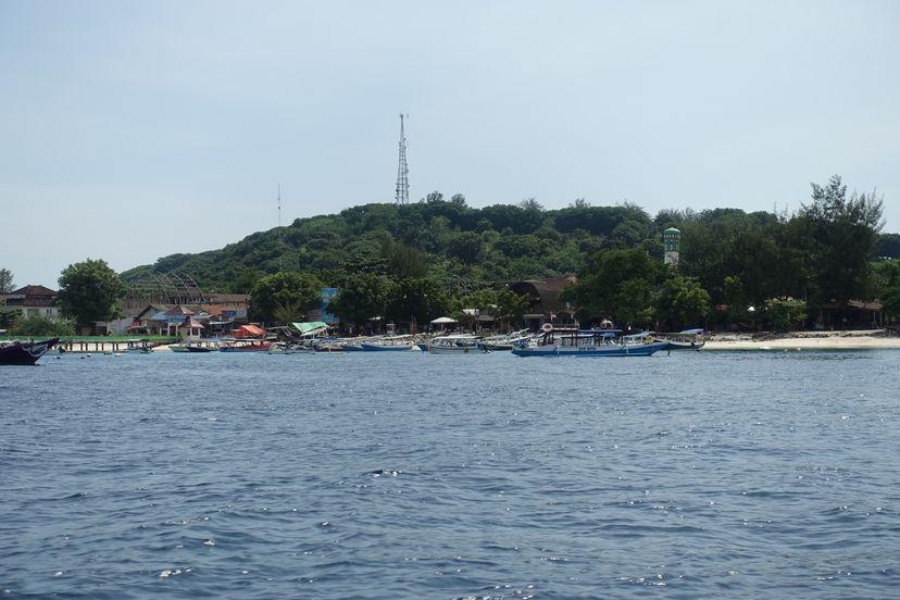 море вокруг Гили