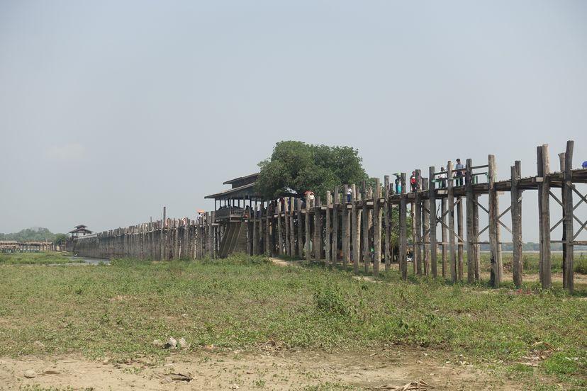 мост У Бейн Мандалай