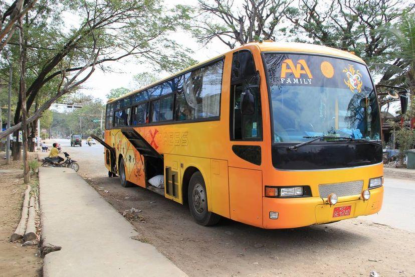 Мандалай автобус