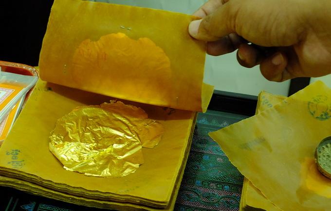 золотые листья Мандалай