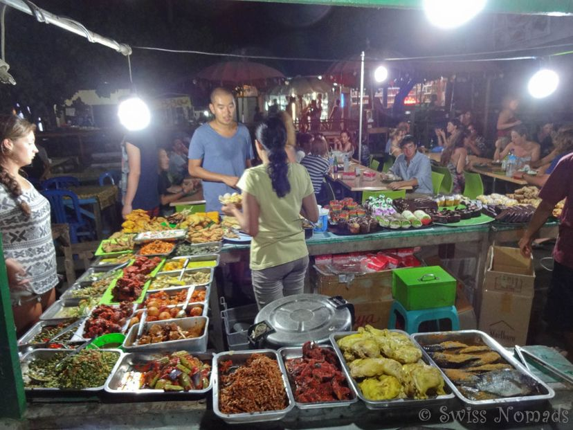 ночной рынок на гили траванган
