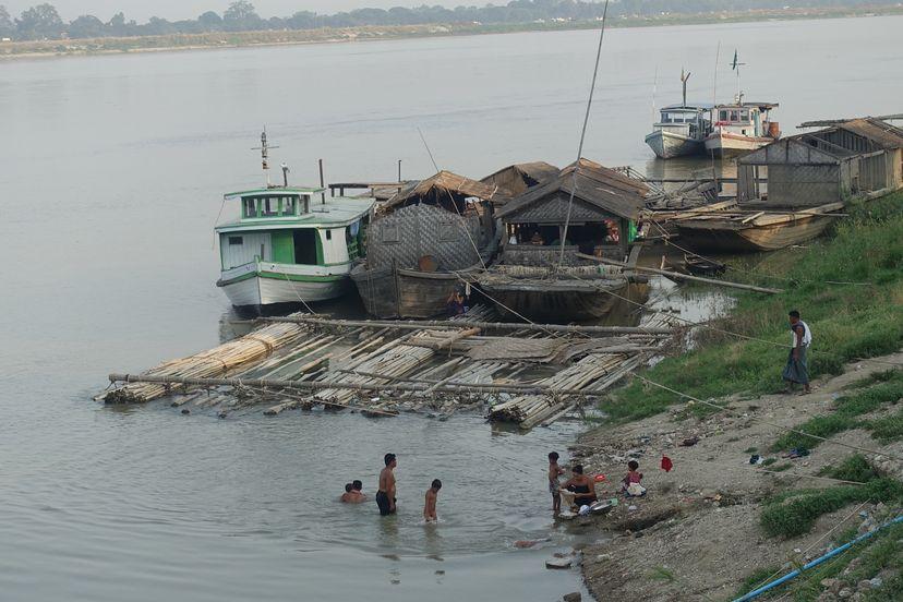 настоящая Мьянма