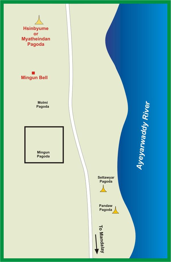 Карта Мингун
