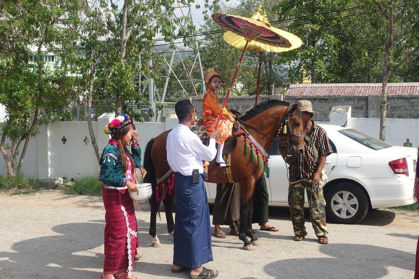 праздник в Мьянме