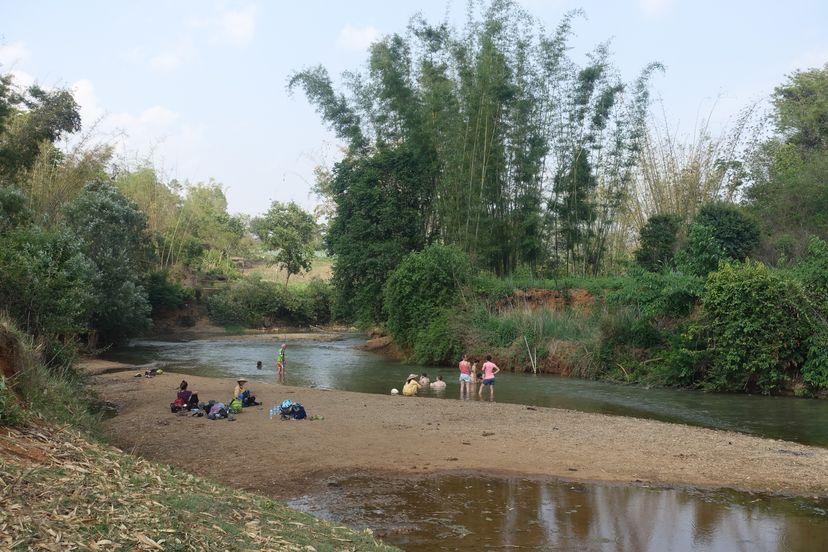 река в Мьянме