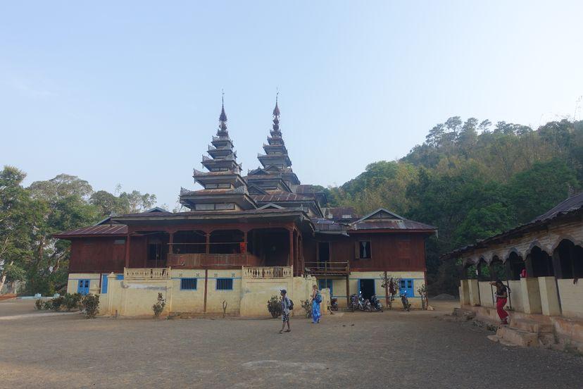 ночевка в буддийском храме