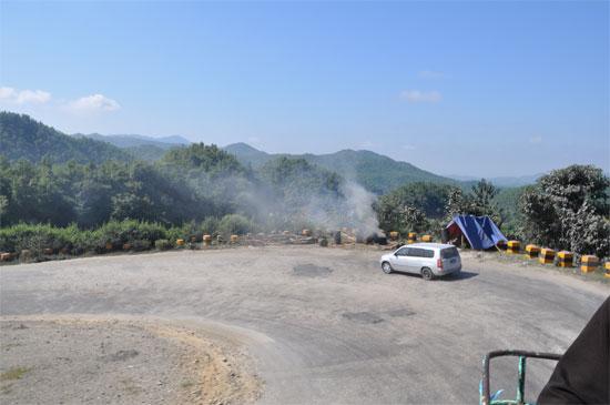 горная дорога мьянма