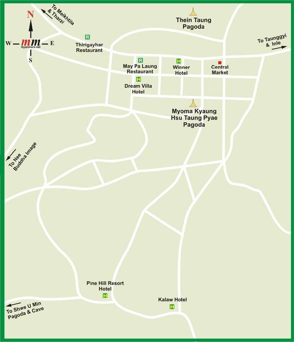 карта Кало