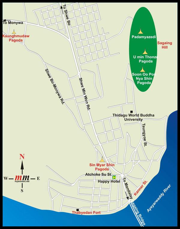 карта Сагайн