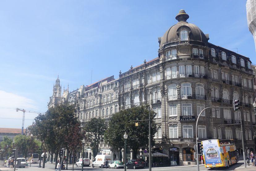 колониальная архитектура в Порту