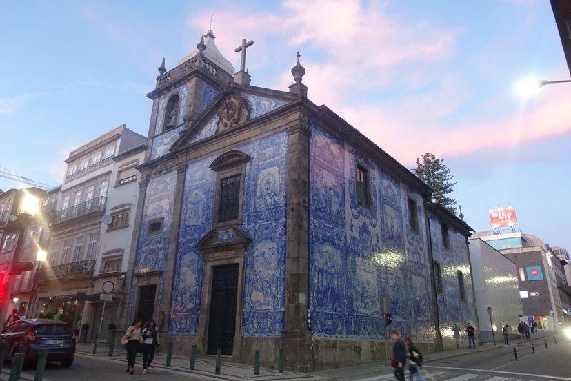 церковь с мозаикой Азулежу