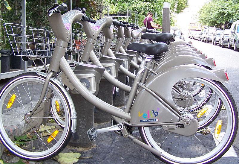 велопрокат Париж