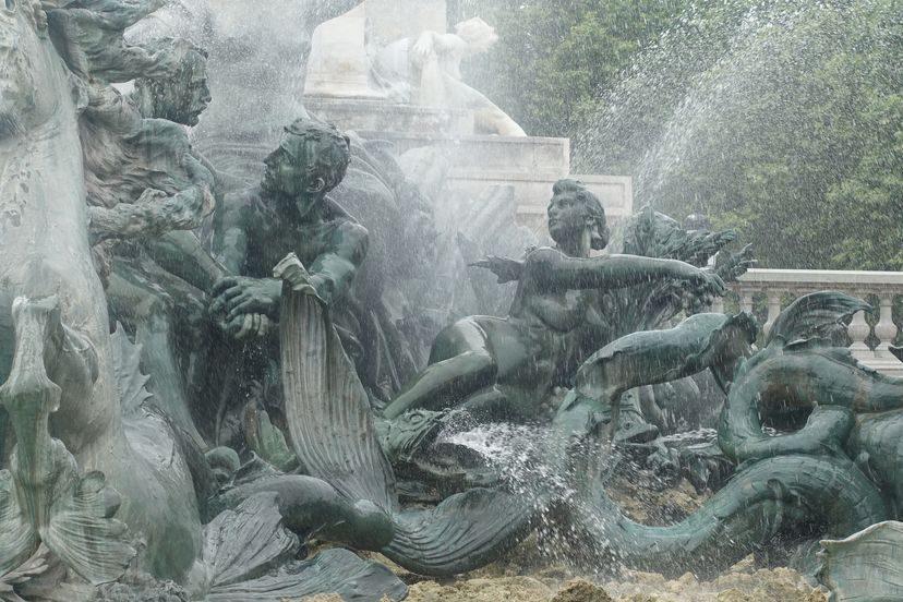 фонтан в Бордо