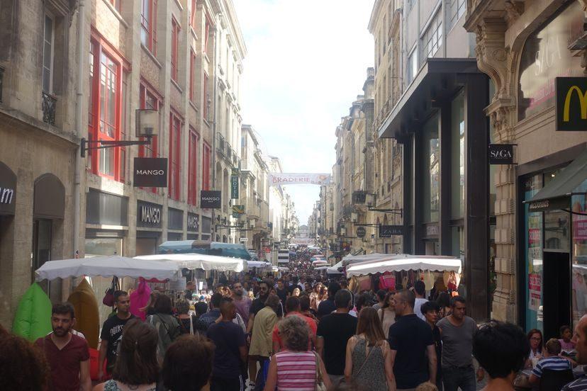 праздник в Бордо