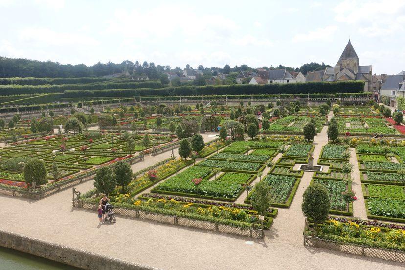 замок Вилландри и сады