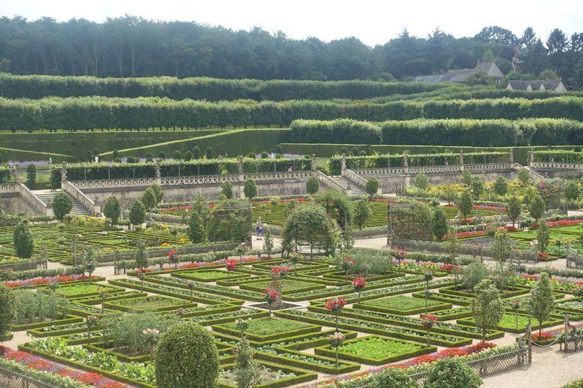 сады Вилландри