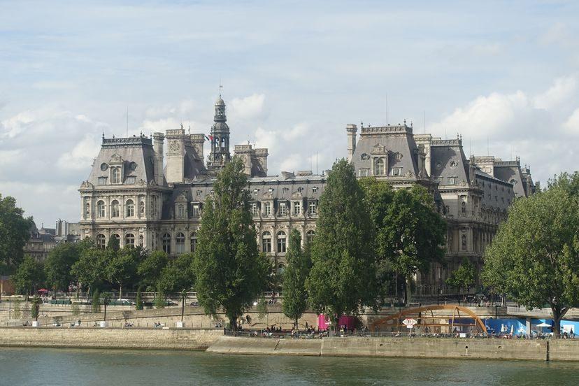 здание мэрии Hotel de Ville