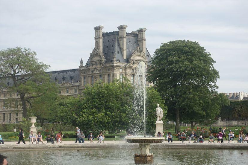 фонтан Морей Париж