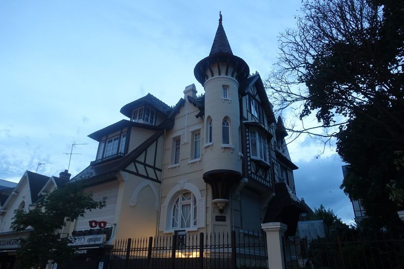 дом в Довиле Франция