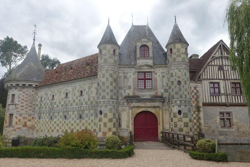 красивый замок во Франции
