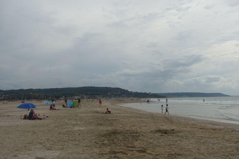 пляж Довиля