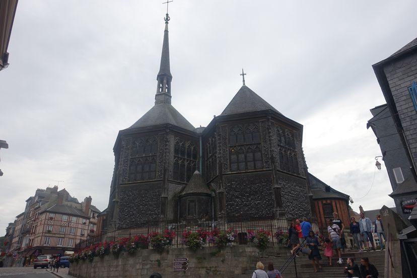 церковь в Онфлер