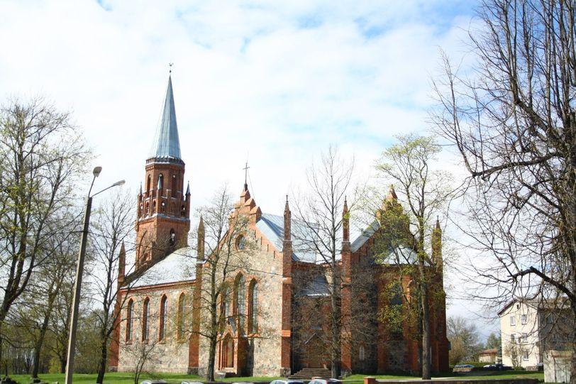 церковь в Эстонии