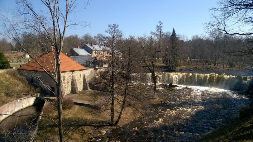 водопад Кейла в Эстонии