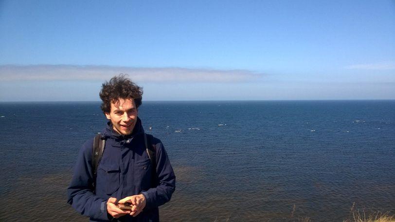 обрыв 30 м в Эстонии