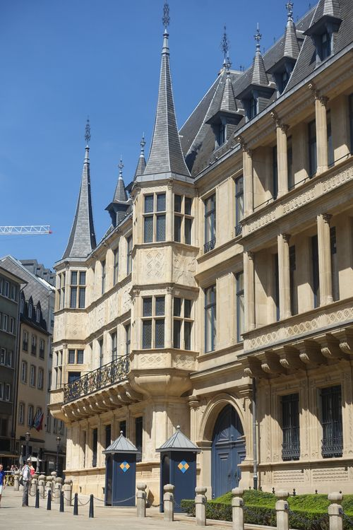 здания в Люксембурге