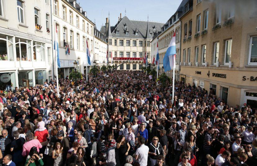 Люди Люксембурга