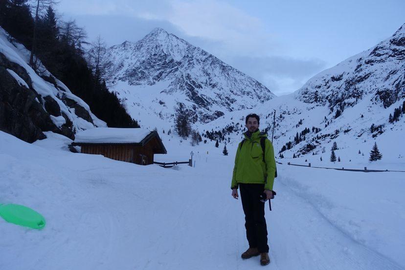 зимний трекинг в Альпах