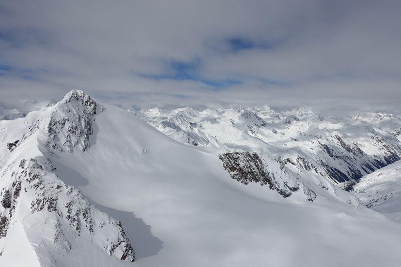 альпийские склоны Австрии
