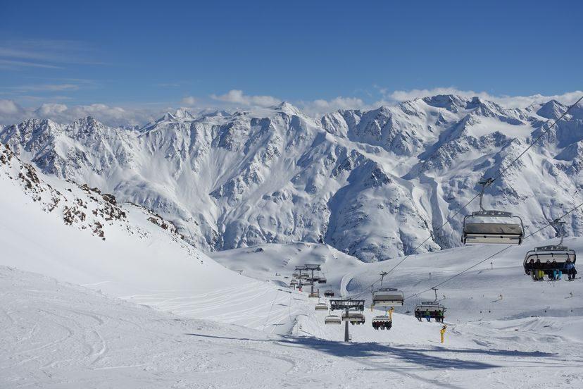 трассы для катания на лыжах в Зельдене