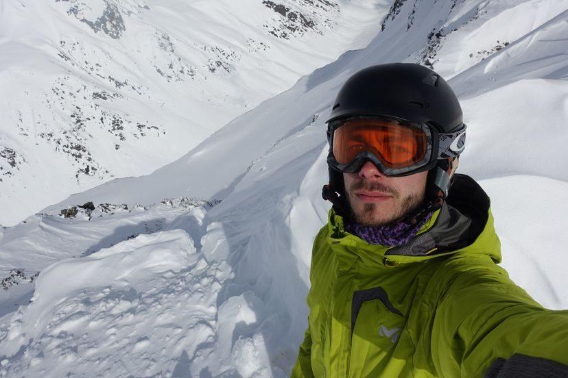селфи в Альпах