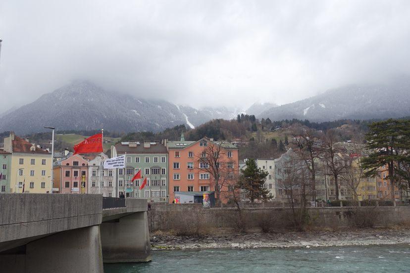 Инбсрук - альпийская столица Австрии