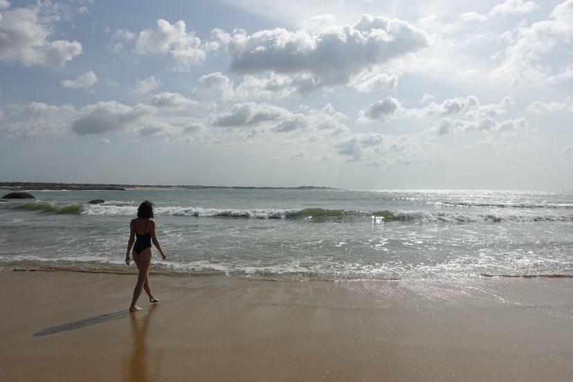 пляж на острове Шри-Ланка