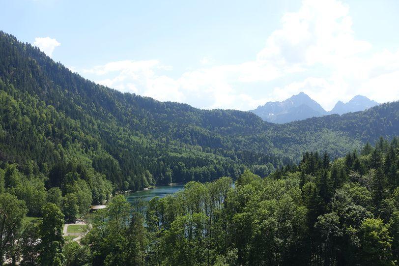 Альпы в Германии летом