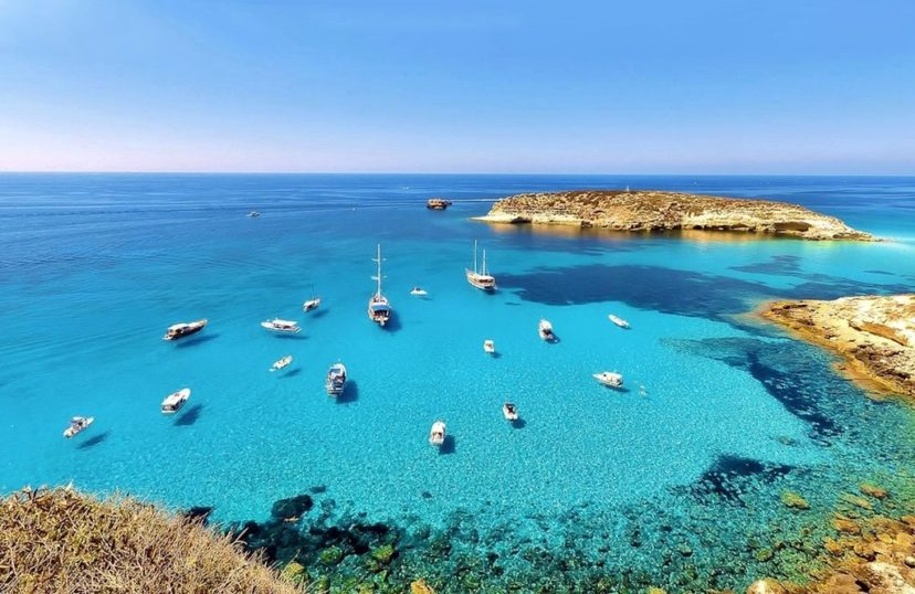 Лампедуза Сицилия