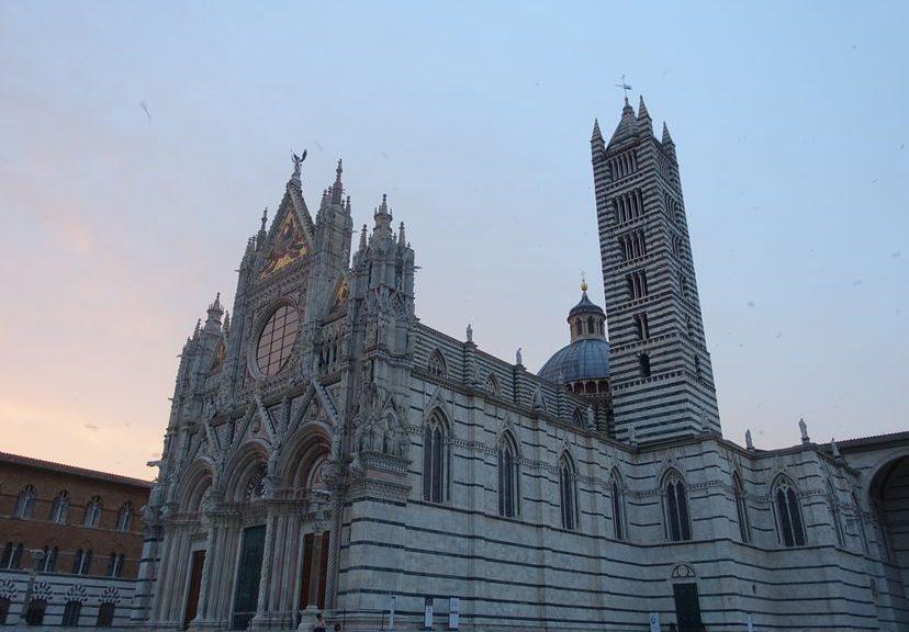 Италия: вино и кофе. Средневековые Сиена и Кьюзи. 5