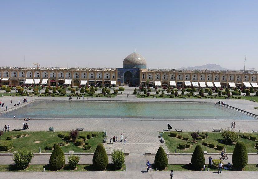 Исфахан. Иран 2016. Путешествие длиною в год