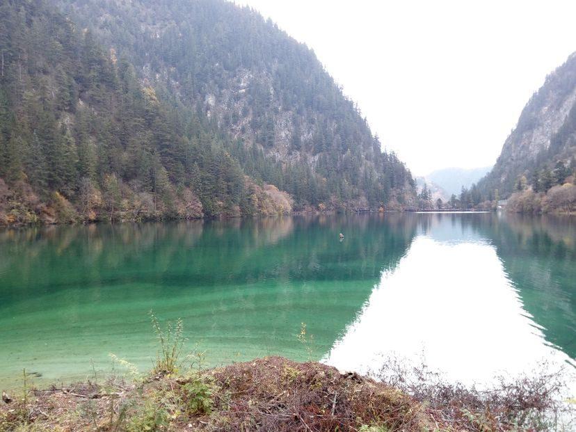 Цзичжайгоу - уникальные травертиновые озера в Сычуани. Путешествия длиною в год