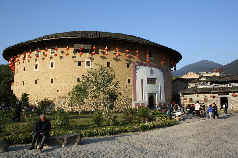 Круглые дома провинции Фуцзянь. Китайский автостоп