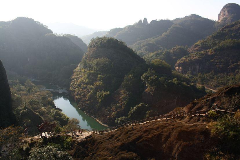 Горы Уишань, Фуцзянь, Китай. Чай Уишань, Да Хун Пао