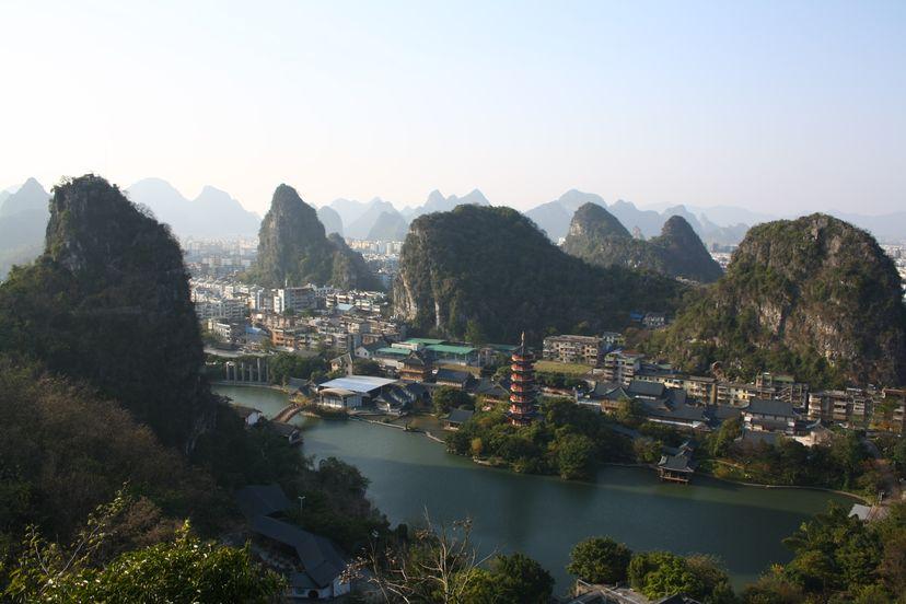Гуйлинь - удивительные пейзажи провинции Гуанси, Китай
