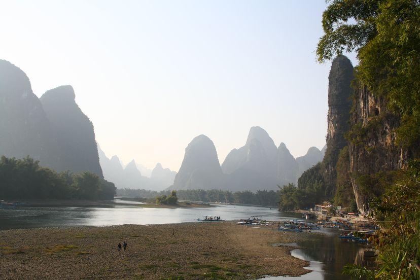 Горы в Яншо и Синпин, Китай - возможно самое удивительное место в мире