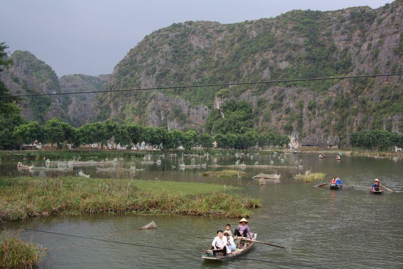 Пещеры и горы Центрального Вьетнама: Нинбин, ТамКок, ТрангАн