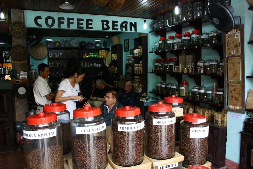 Вьетнамский кофе. Арабика, Кули, Робуста, кофе из Далата
